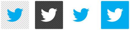 Representación oficial de la marca Twitter
