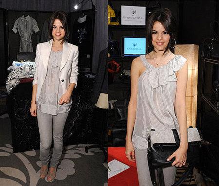 Selena Gomez y su perfecto outfit gris