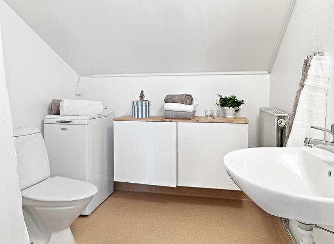 Baño de un apartamento de 31 metros cuadrados