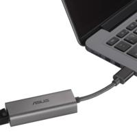 Asus presenta el USB-C2500, un adaptador USB-Ethernet para actualizar tu red cableada a velocidades de hasta 2.500 Mbps