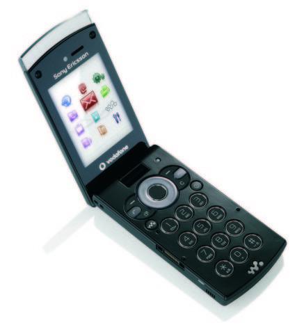 Sony Ericsson W980 con Vodafone