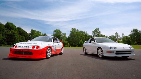 El legendario Acura Integra Type R regresa a la pista para revivir sus glorias