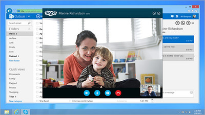 Skype desde Outlook.com disponible ya en varios países, el resto tendremos que esperar