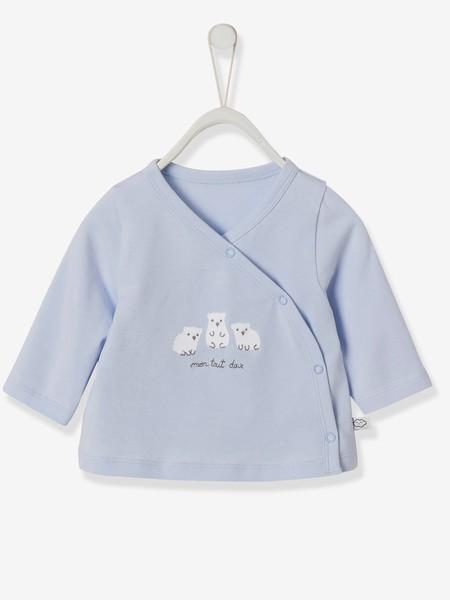 Chaqueta Cruzada Para Bebe Recien Nacido