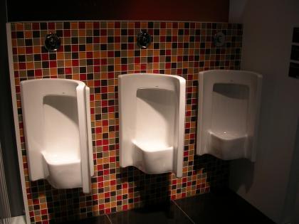 Roca: urinarios para hombres tímidos