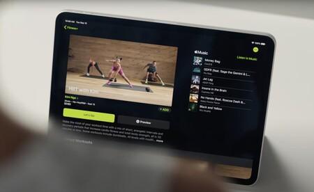 clases de fitness en iPad