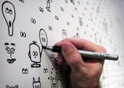 Papel pintado interactivo en el que puedes dejar volar tu imaginación