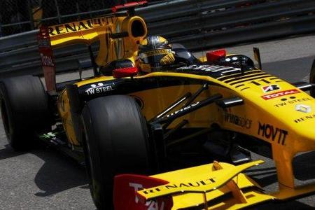 GP de Mónaco 2010: El Renault R30 vuelve a volar gracias a las manos de Robert Kubica