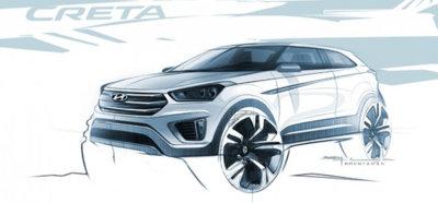 Primera imagen del Hyundai Creta, uno más a la carrera de los SUV urbanos