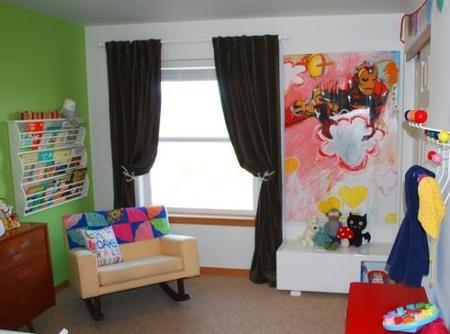 La habitaicón del bebé