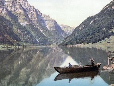La idílica vida en la  Suiza de 1890, retratada en 27 preciosas fotografías de la época a todo color