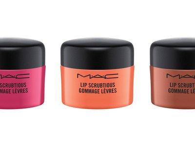 MAC nos pone los labios a punto con su nueva colección de exfoliantes Lip Scrubtious