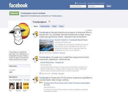 Reserva de vuelos a través de Facebook