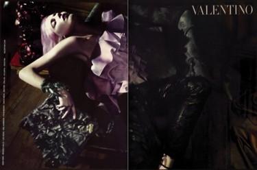 Valentino, primera imagen de la campaña Primavera-Verano 2010