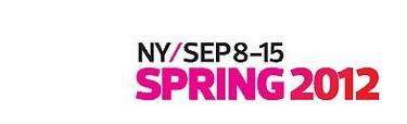 Fechas oficiales de la Semana de la Moda de Nueva York 2012 (primavera - verano)