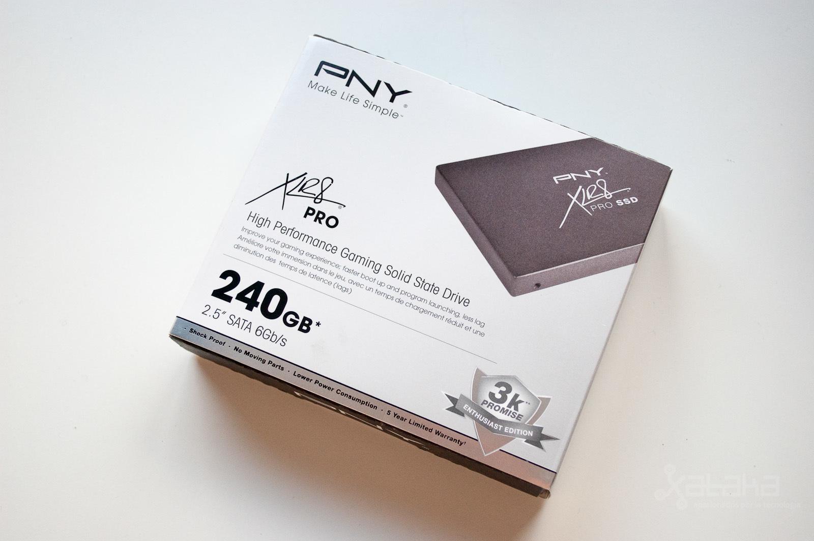 Foto de PNY XLR8 Pro SSD, análisis (1/11)