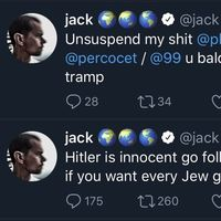La cuenta de Jack Dorsey, CEO de Twitter, ha sido hackeada... en Twitter