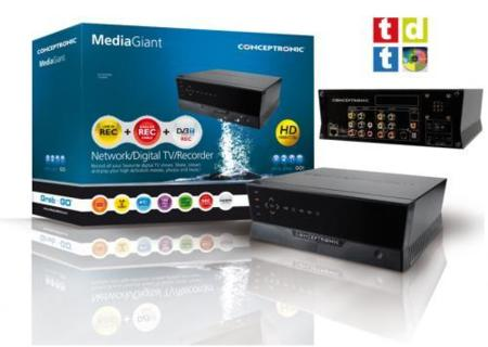 Conceptronic Media Giant CM3GDP con Powerline integrado