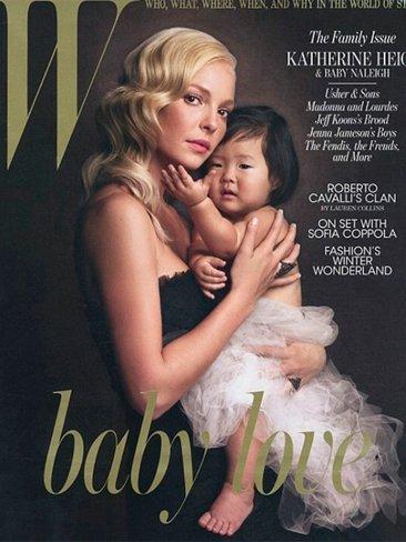 Katherine Heigl, no sin mi hija, en W Magazine