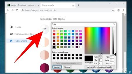 Personaliza Color