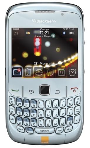 BlackBerry Curve 8520 también estará con Orange y Movistar