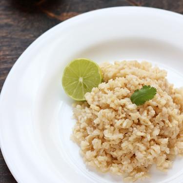 ¿Cómo preparar arroz integral?