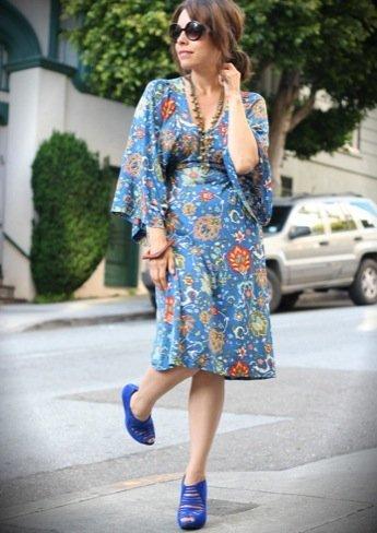 El estilo de Jennine Jacob flor azul