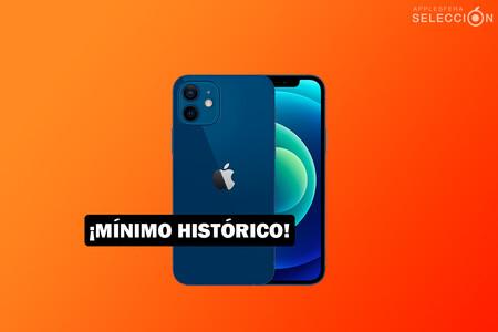 El iPhone 12 de 128 GB alcanza su precio mínimo histórico en Amazon, por 829,99 euros