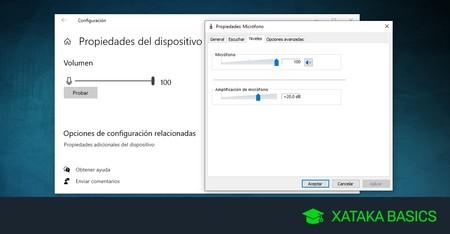 Cómo configurar tu micrófono en Windows