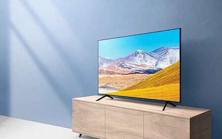 Las 75 pulgadas de la Smart TV Samsung 75TU8005 están más baratas que nunca en Amazon por 750,97 euros