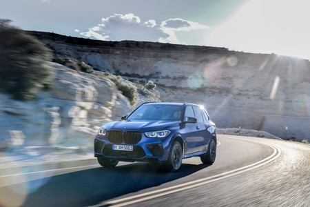 BMW X5 M Competition curvas