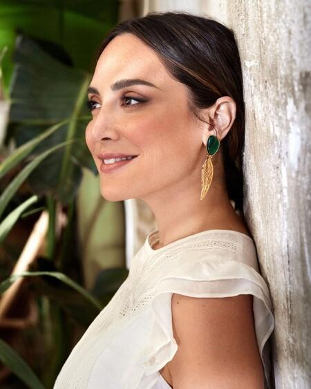 Tamara Falcó nos enamora en la presentación de su libro con un precioso vestido verde de Massimo Dutti que sigue disponible