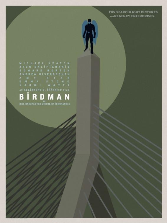 Foto de 'Birdman (o la inesperada virtud de la ignorancia)', carteles (11/15)