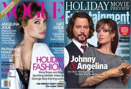 Angelina Jolie es la chica-portada del momento sin duda alguna