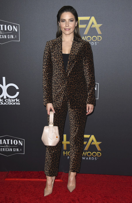 Sophia Bush hollywood film awards 2018 red carpet look