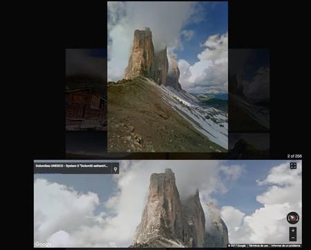 Imágenes editadas por una inteligencia artificial de Google
