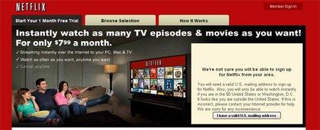 Netflix quiere estrenar series en streaming
