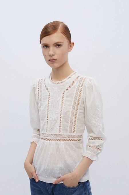 Tops Blusas Blancas Verano 2020 Sfera 14