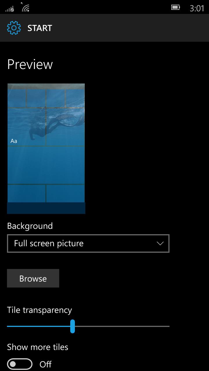 Foto de Windows 10 Mobile build 10136 (34/92)