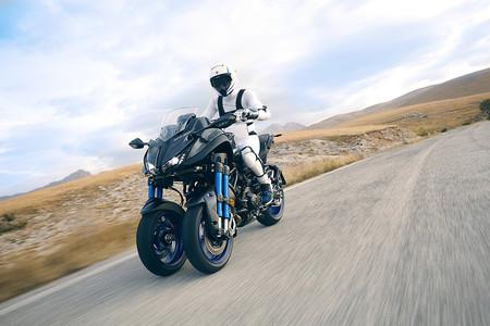 Una moto de tres ruedas, ocio puro y 45º de inclinación. ¿Qué podemos esperar de la Yamaha Niken?