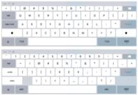 Más indicios de que veremos un iPad Pro: el teclado escalable de iOS 9