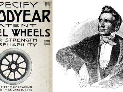 Una fascinante casualidad hizo que Goodyear vulcanizara caucho en el siglo XIX, cambiando para siempre los neumáticos