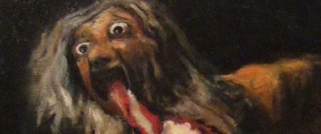 Saturno devorando a sus hijos, Goya.