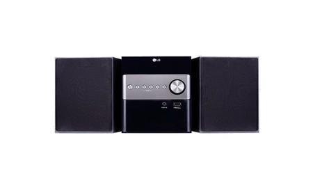 LG CM1560, una microcadena con Bluetooth que nos sale por sólo 69 euros en Mediamarkt esta semana