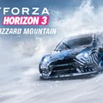 La nueva actualización de Forza Horizon 3, Blizzard Moutain, llegará el 13 de diciembre