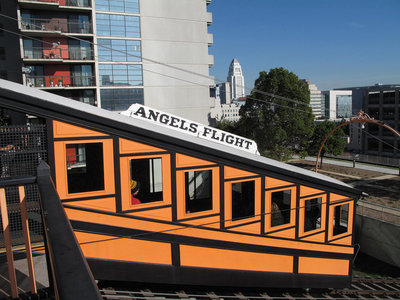 Reabren Angels Flight, el funicular de 'La La Land'