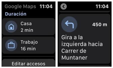 Google Maps Watch