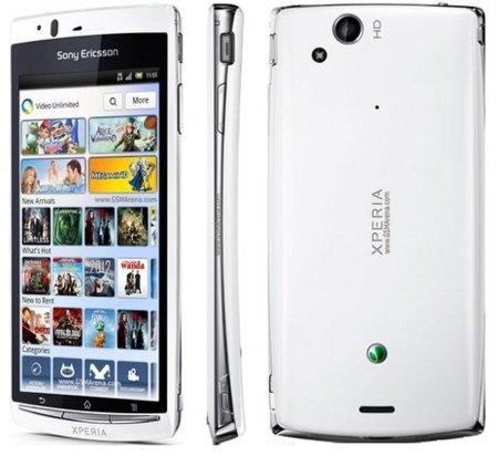 Precios Sony Ericsson XPERIA Arc S con Vodafone