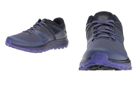 Por 39,95 euros podemos hacernos con estas  zapatillas para mujer Salomon Trailster W en Amazon