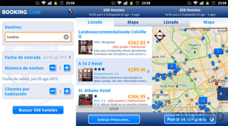 Booking.com para Android